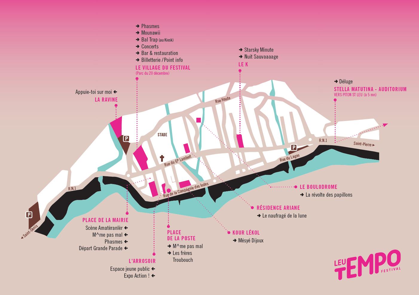 Plan Général Leu Tempo Festival 2019