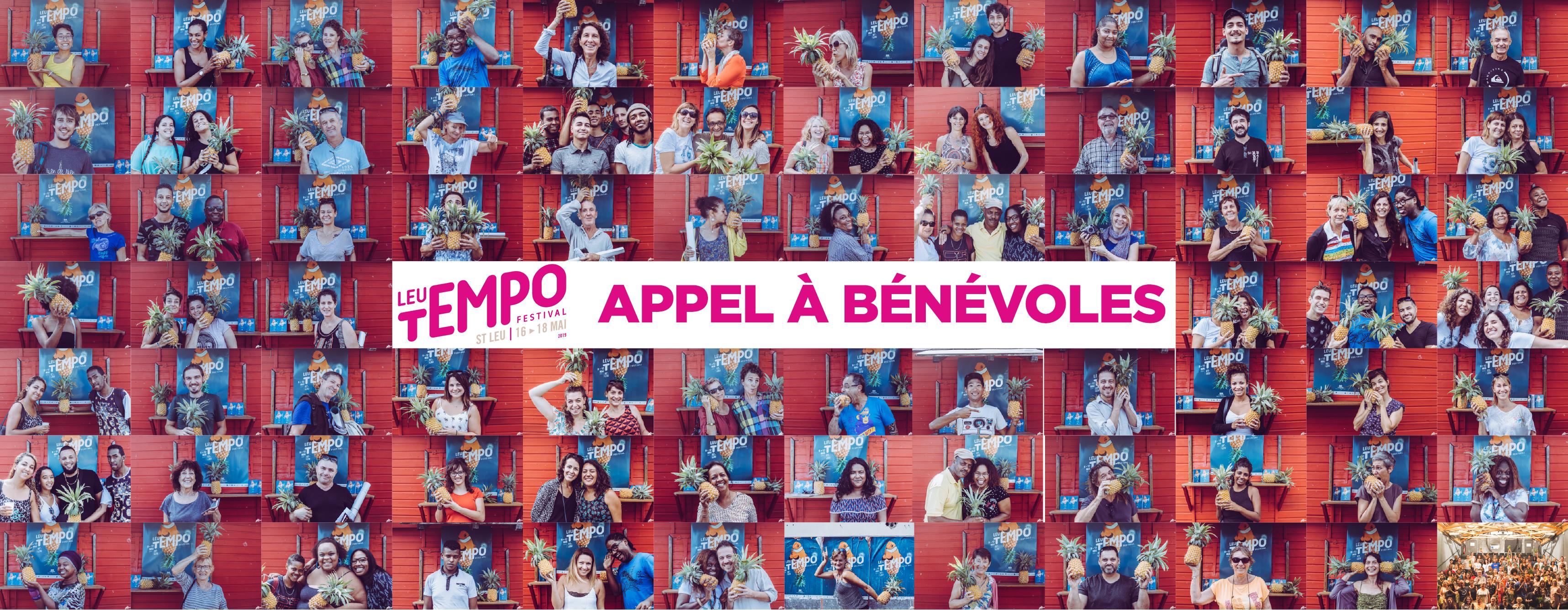 Appel à bénévoles - Leu Tempo Festival 2019